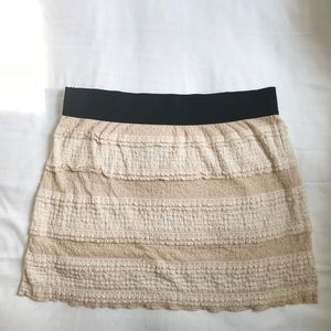 Free People Skirts - Free People Lacey Mini Skirt w/ Stretchy Waist